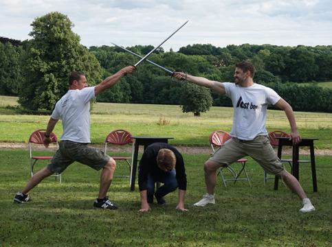 Sword fight workshop
