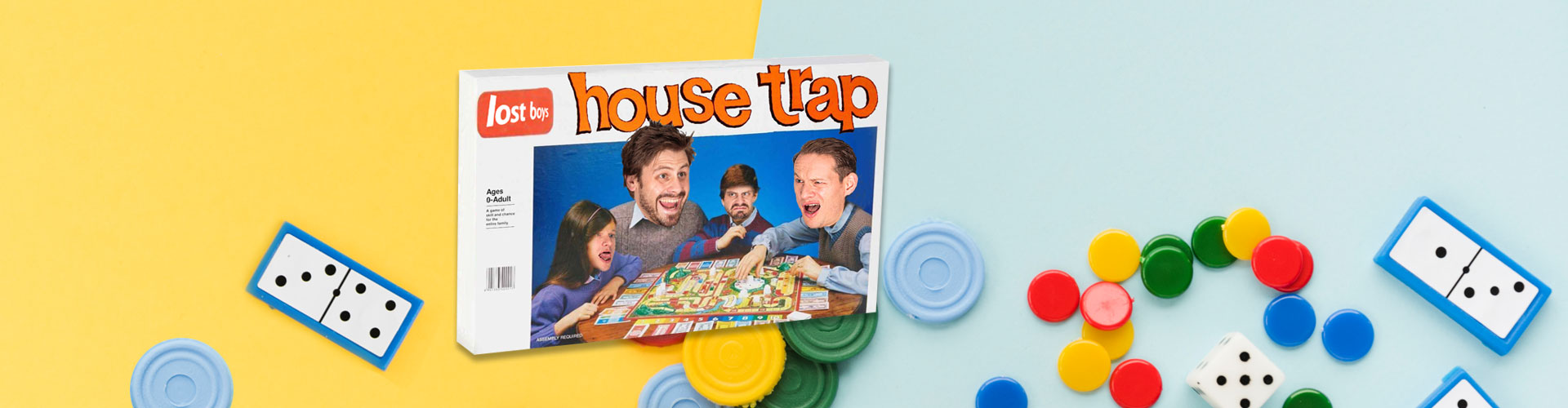 House Trap homepage banner